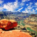 1 Day Grand Canyon West Bus Tour (Buis+Tickets + Bilingual Guides)