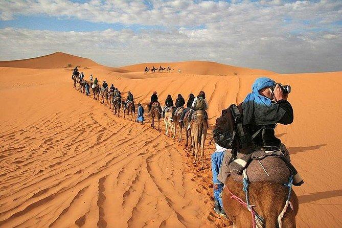 4 days private tour from Casablanca to Marrakech via Fes & sahara desert