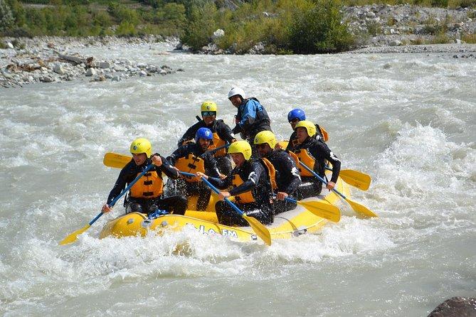 Valais Switzerland - White Water Rafting
