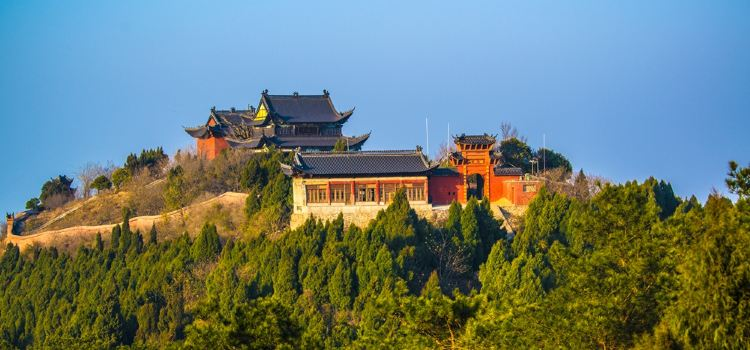 白兆山李白文化旅遊區2