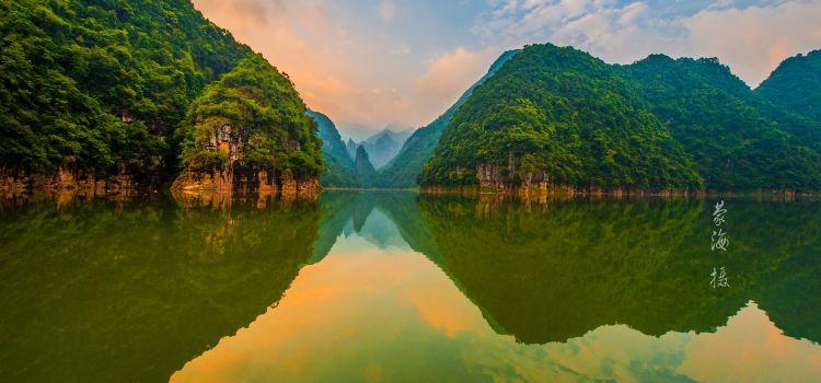 金秀聖堂湖生態旅遊景區1