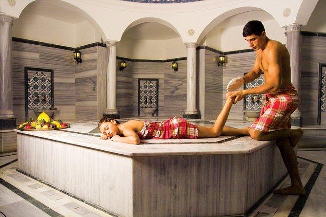 Marmaris V.I.P Turkish Bath, Face Mask, Sauna, Oil Massage, Fish Spa, Scrub...