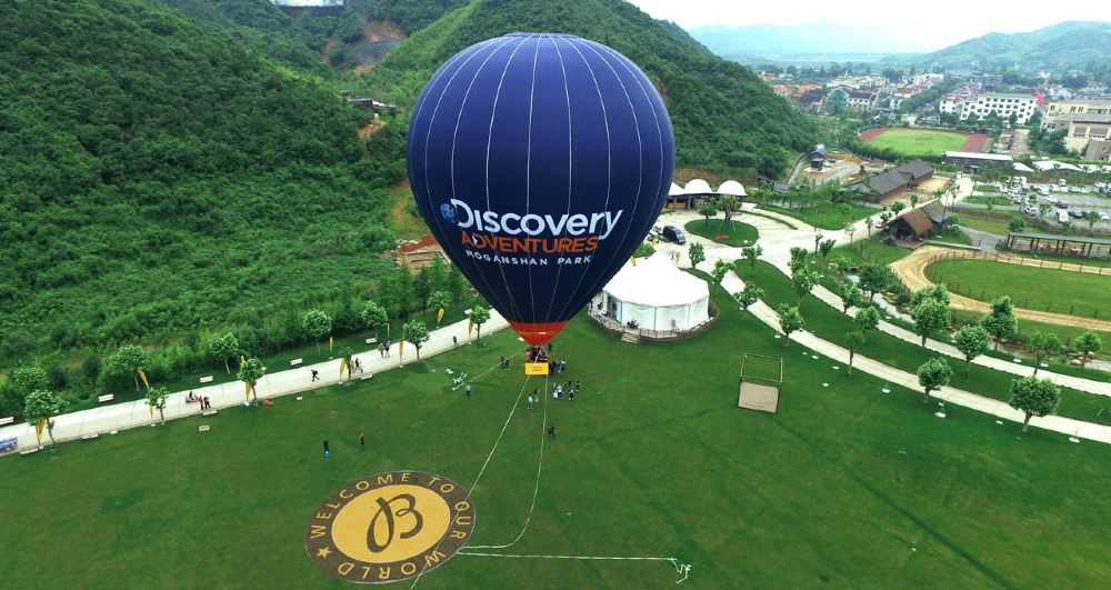 Discovery探索极限基地授权图片热气球