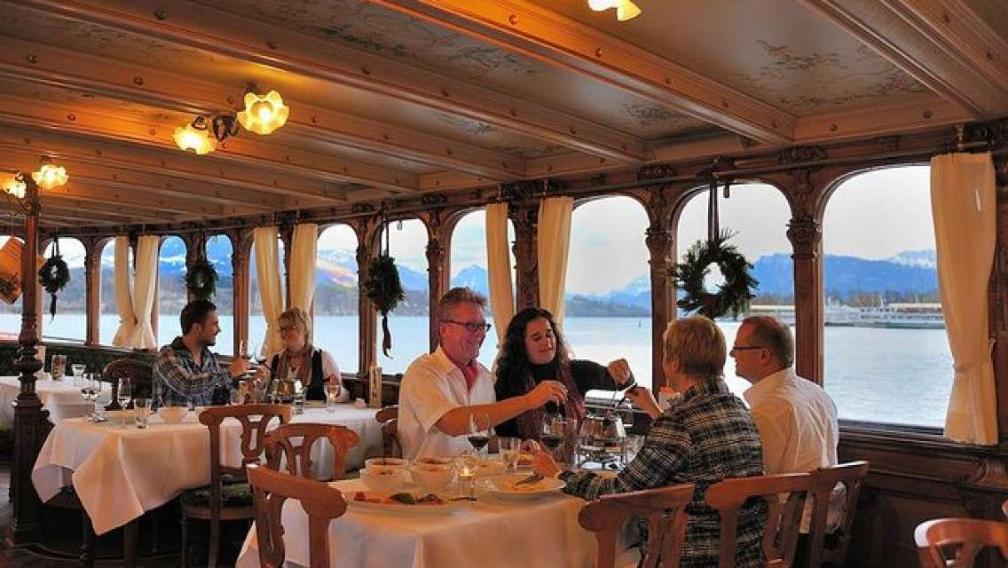 Lucerne City Tour With All You Can Eat Cheese Fondue And Raclette Evening Cruise