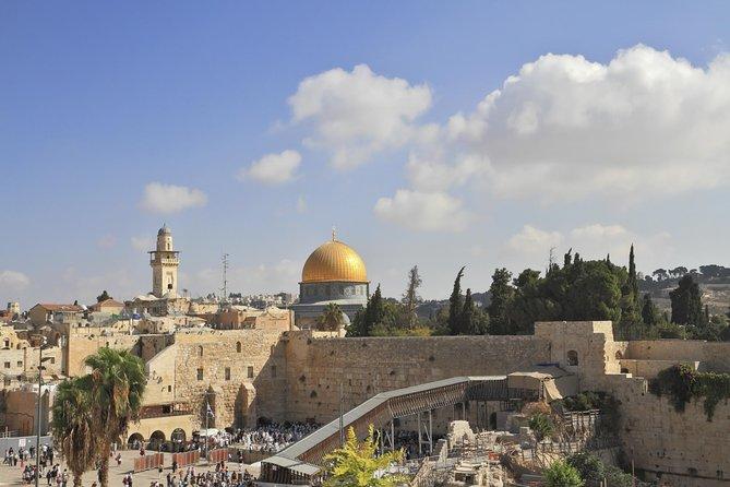 Ashdod Shore Excursion: ALL Jerusalem Highlights + visit to Bethlehem