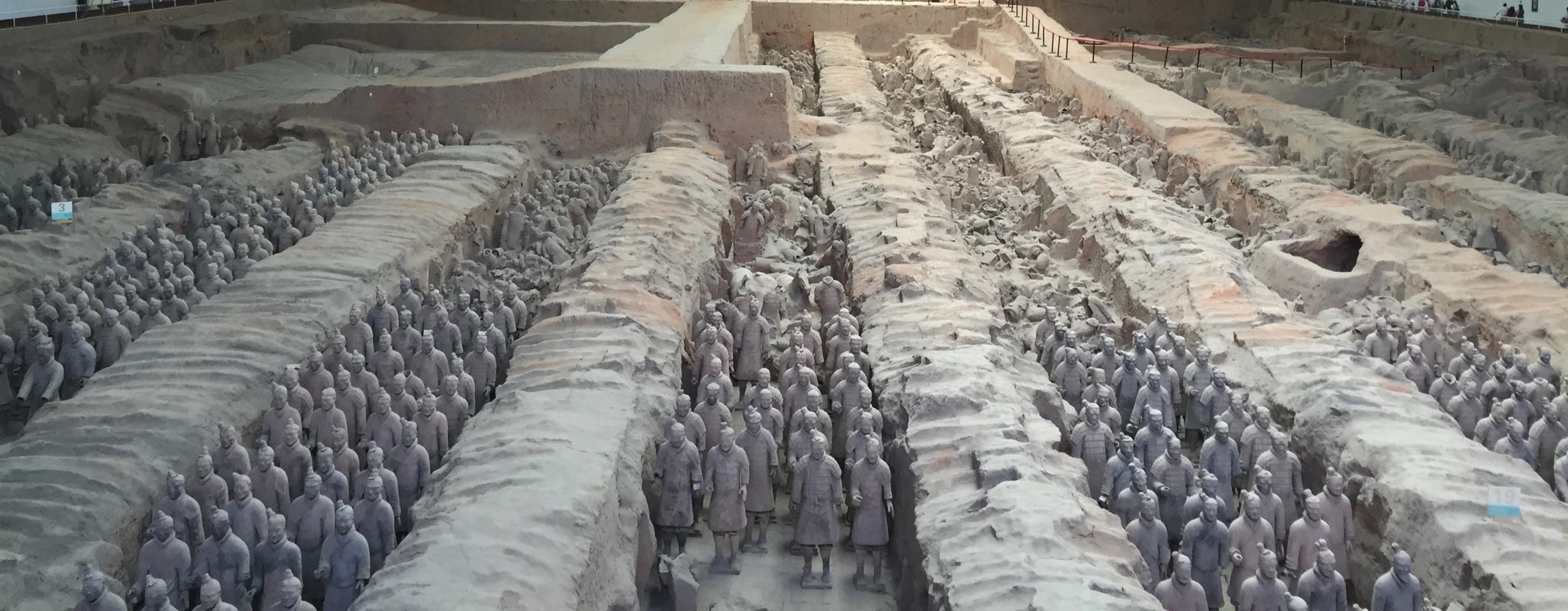 【西安英語拼團】兵馬俑博物館,秦始皇陵遺址公園,半坡遺址拼團一日遊