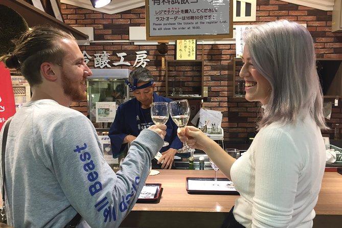 Sake Tasting at Local Breweries in Kobe