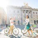 Ebike Tour with Cable Car Ride and Goleta Boat Barcelona Premium Small Group