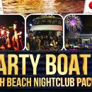 South Beach Boat Party & VIP Nightclub Package (Party-Boat Pre-Game)