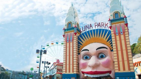 Full-day Luna Park Admission Ticket in Sydney