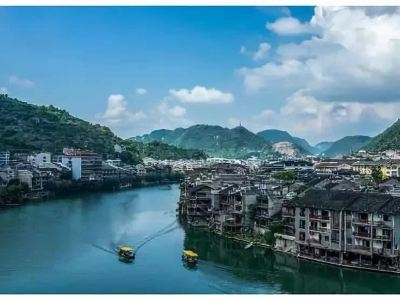 Water Cruise in Zhenyuan Old Town