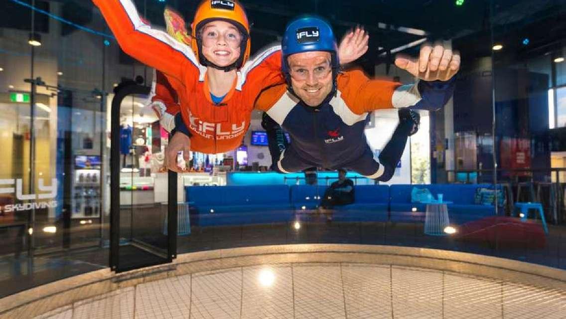 iFLY Indoor Skydiving in Gold Coast