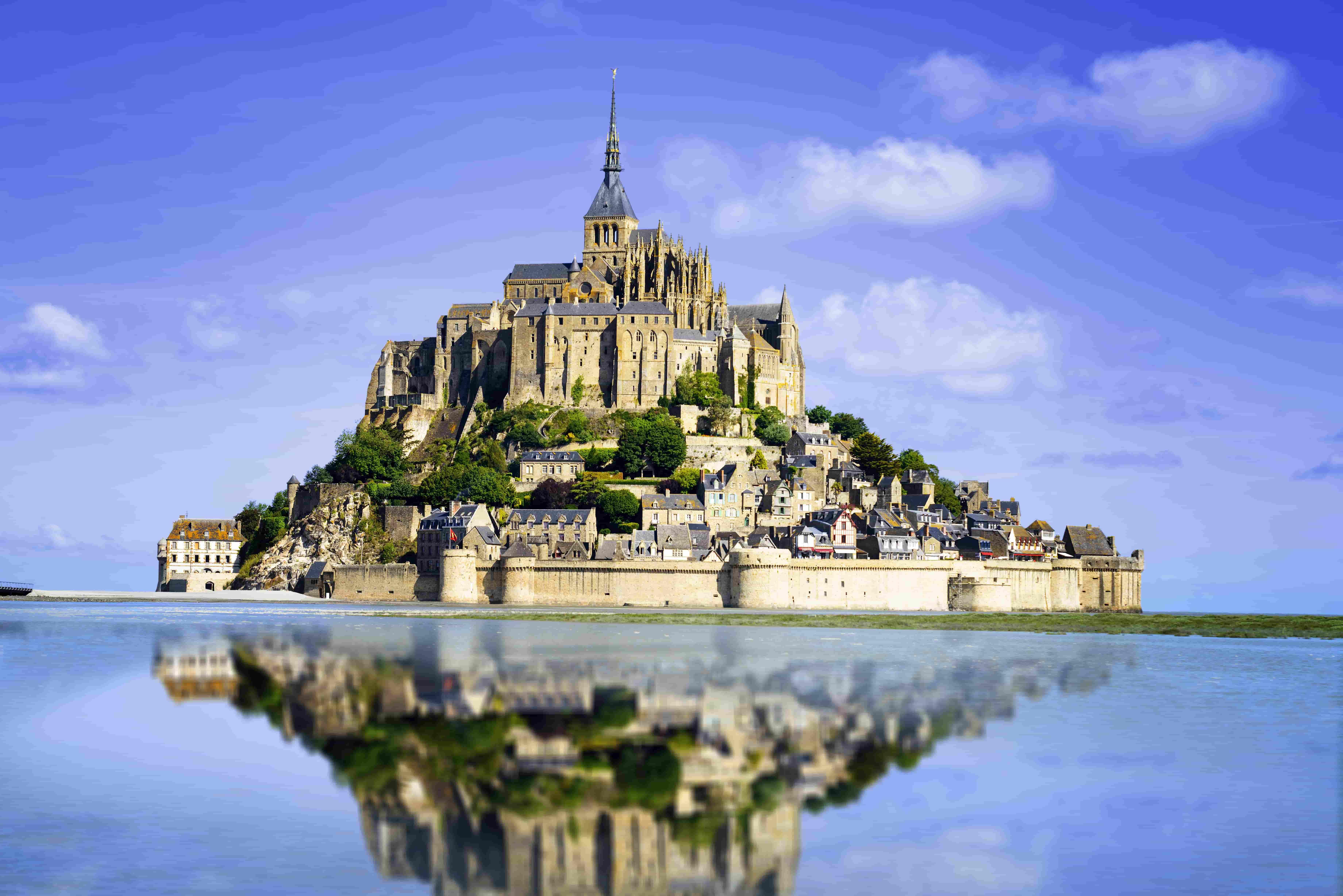 【法國世界文化遺產】巴黎聖米歇爾山一日遊+中文/英語導遊