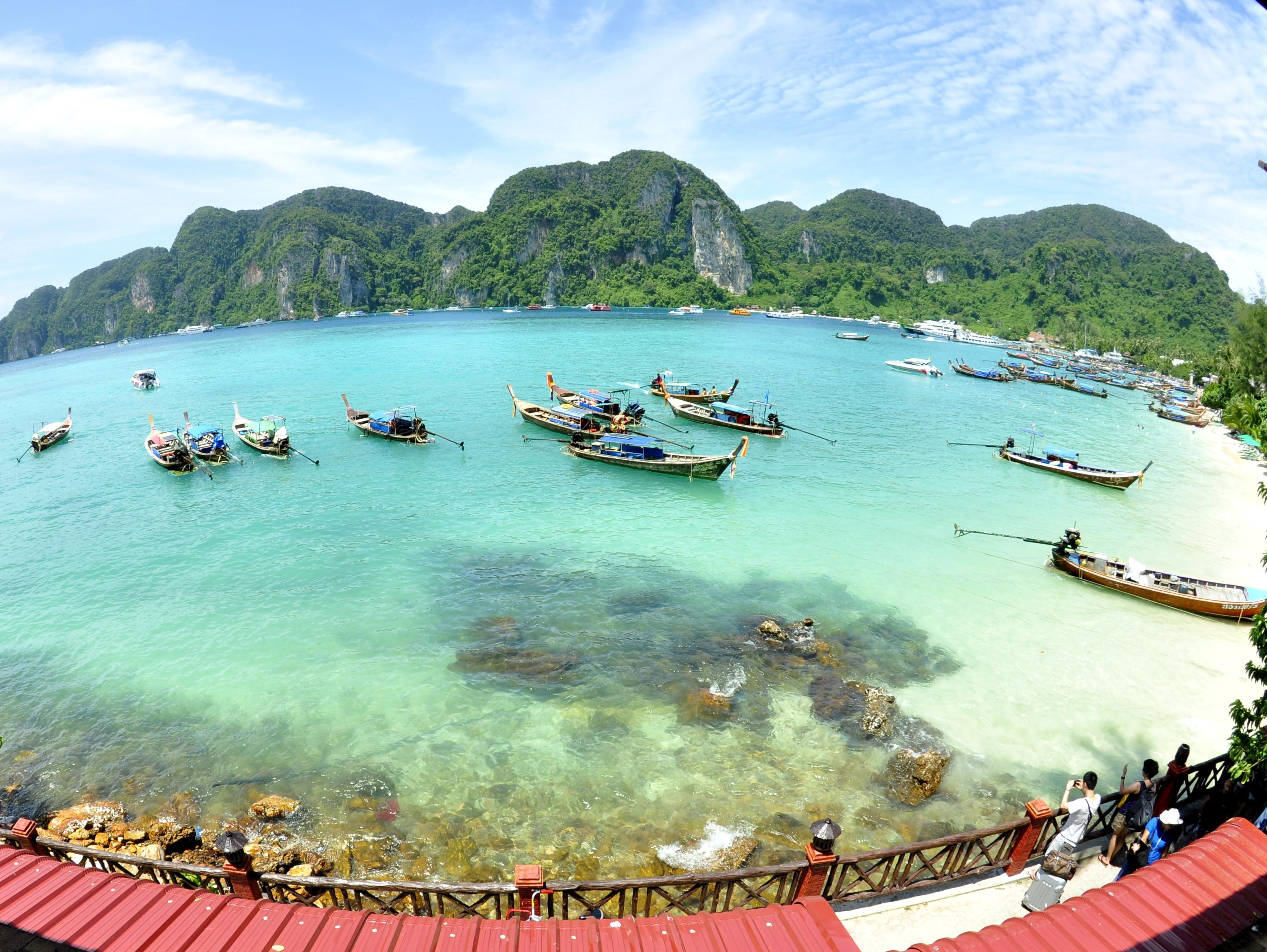 Phuket Phi Phi Island + Khai Island Speedboat One Day Trip
