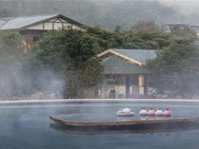 화수이완 벚나무 리조트 호텔 온천