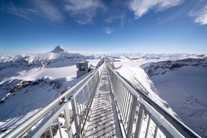 Glacier 3000 and Montreux Riviera from Geneva