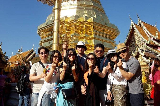 Doi Suthep Temple and Mhong Village