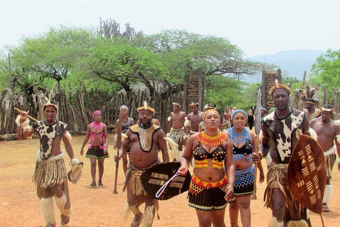 Zulu Cultural Tour and Zulu Dancing from Durban