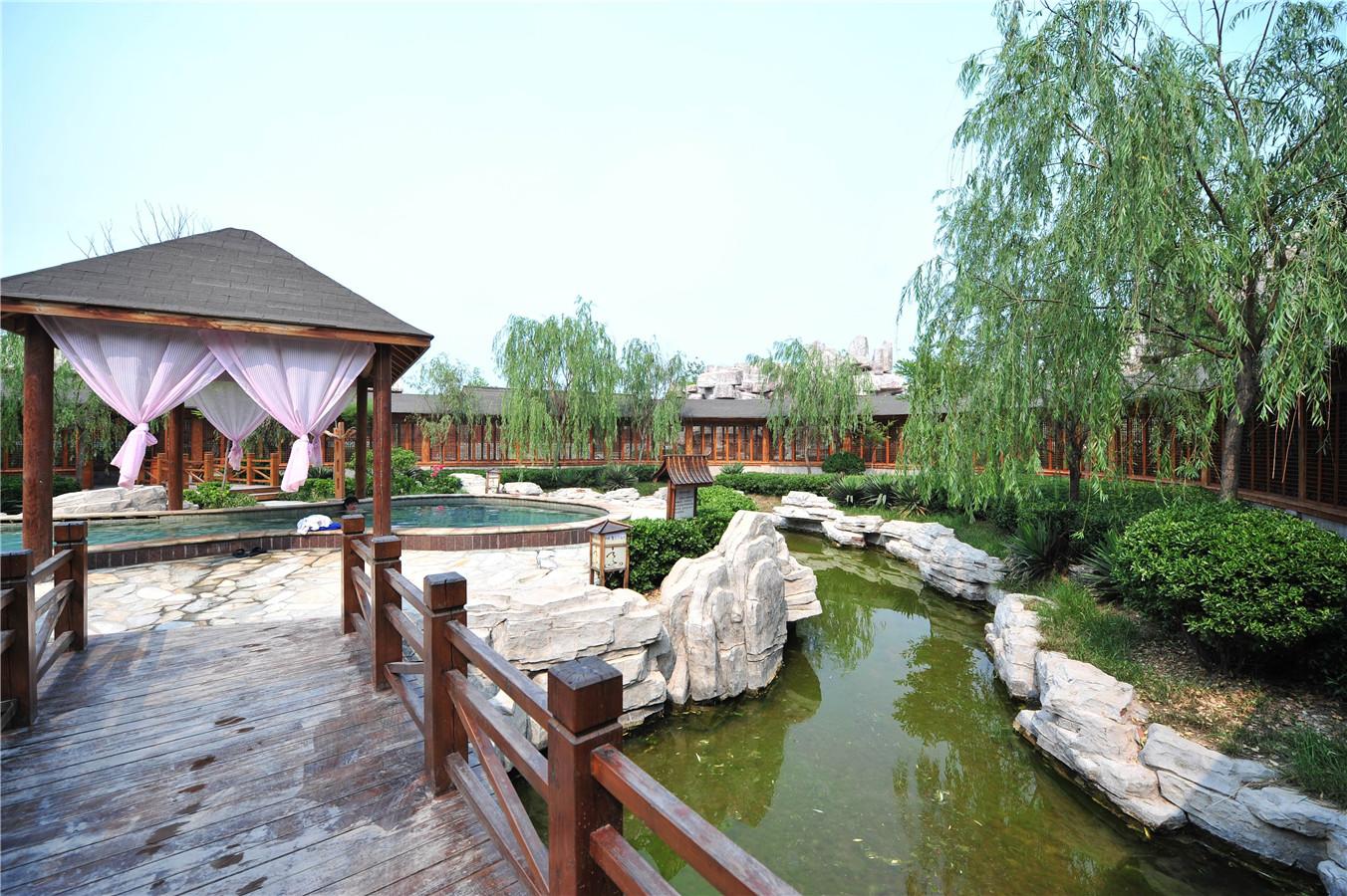 天沐江北水城溫泉