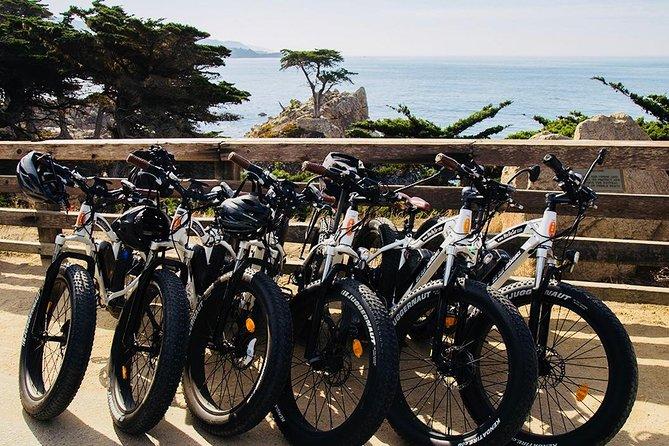 3-hour Electric Bike tour, 17 Mile Drive, Monterey Bay Coastal Rec Trail