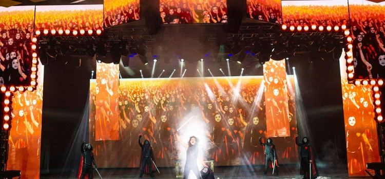 太陽劇團《天使克利斯的信念》秀3