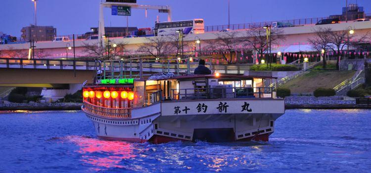 Tokyo Bay Yakatabune Boat1
