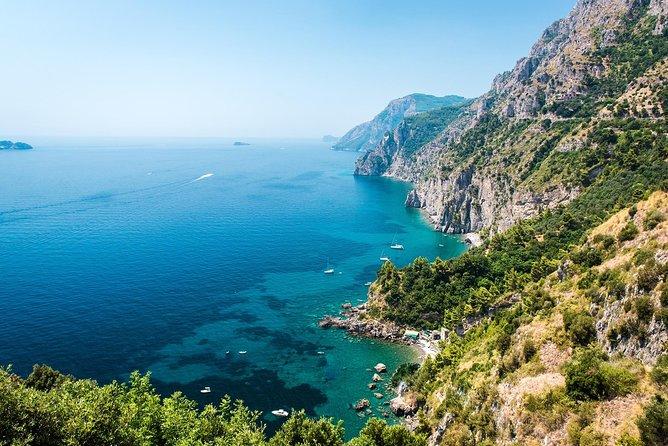 Amalfi Coast Highlights Private Boat Cruise from Sorrento