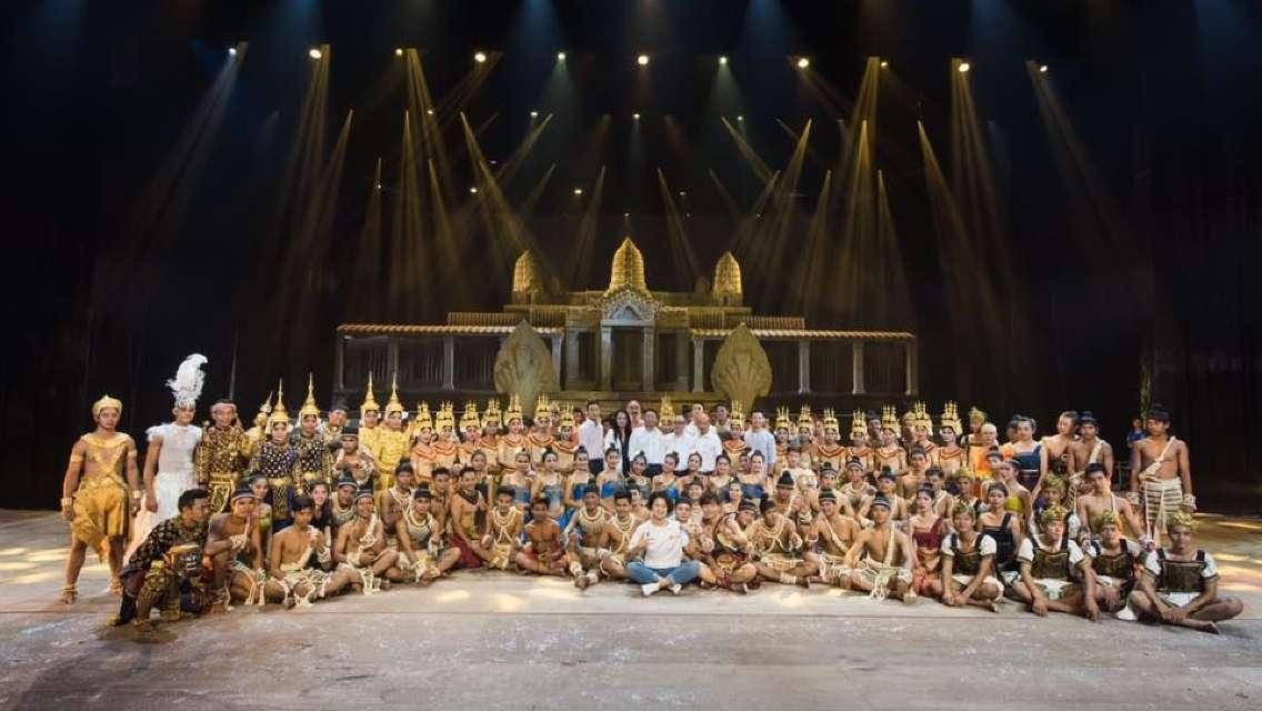 앙코르 다이너스티 쇼 VIP석 Angkor Dynasty Show 픽업 샌딩