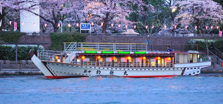 東京灣屋形船