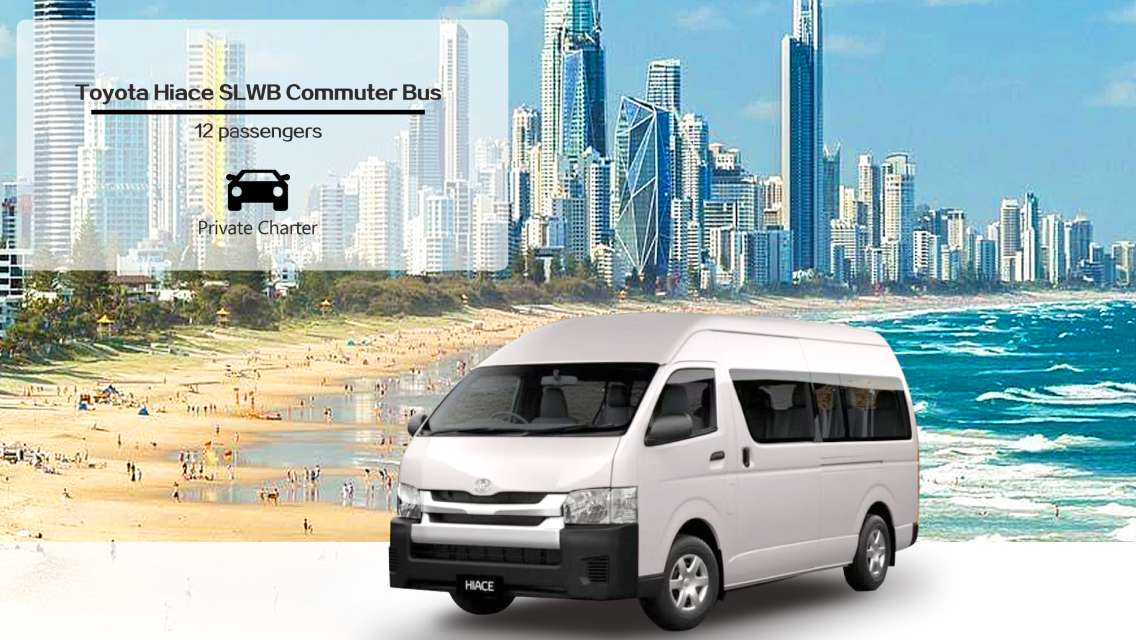 Private Sightseeing TOYOTA HIACE Charter with Mandarin-English Speaking Driver-guide from Gold Coast (Brisbane/Byron Bay/Mt Tamborine/Gold Coast)