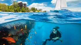 泰国芭堤雅格兰岛+泰国芭堤雅萨岛一日游【可选帆船/深潜/曼谷出发/中文导游】
