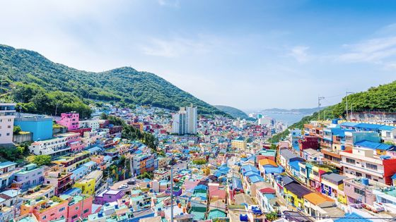 【일일투어】부산 역사 탐방, 감천문화마을·영도대교·흰여울문화마을