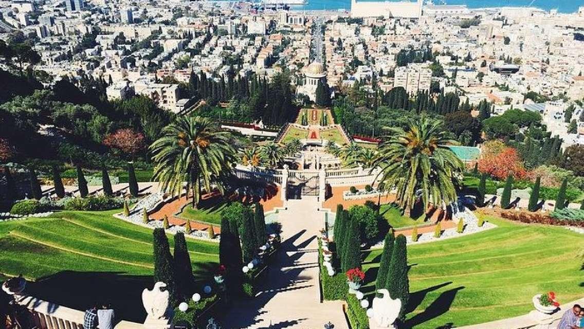 Woman in Haifa