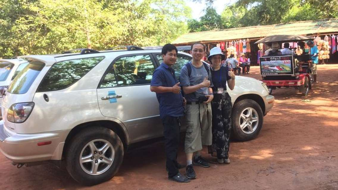 Private Tour Angkor Wat Five days Tour - Beng Mealea - National Park Phnom Kulen