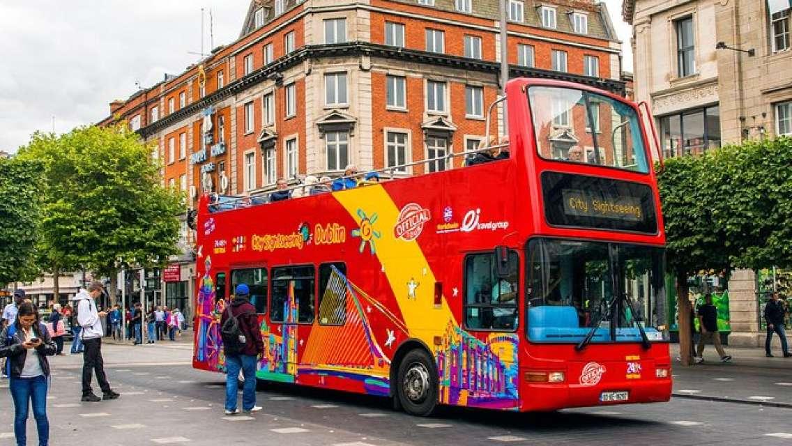 City Sightseeing Dublin Hop-On Hop-Off Bus Tour