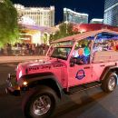 Las Vegas City Lights Night Tour by Open-Air Jeep with Optional Night Flight