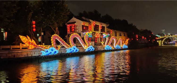 江南古運河遊船(南禪寺碼頭)