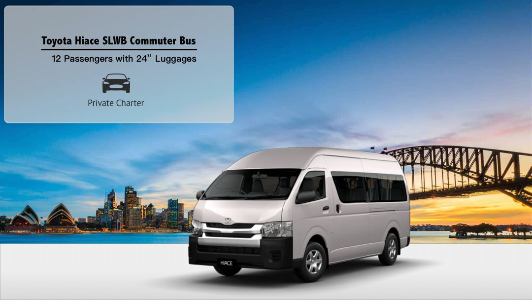 Private Sightseeing TOYOTA HIACE Charter with Mandarin-English Speaking Driver-Guide from Sydney (Blue Mountain/Wollongong/Hunter Valley/Canberra)