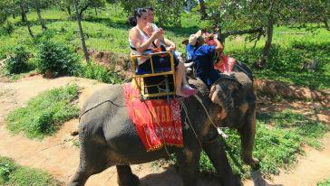 苏梅沙发里30-骑大象