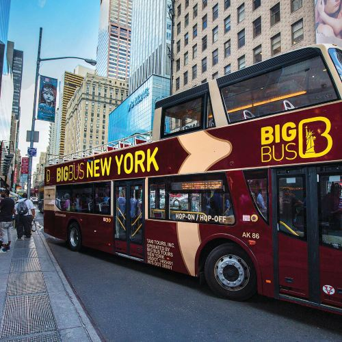 Big Bus New York Hop-on Hop-off Bus Tour