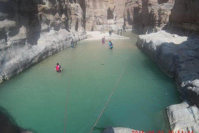 Private Trip: Madaba, Mt. Nebo, Al-Mujib Siq Trail and Dead Sea Trip from Amman