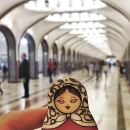 Private Moscow Metro Tour with Friendly Local Guide Guide