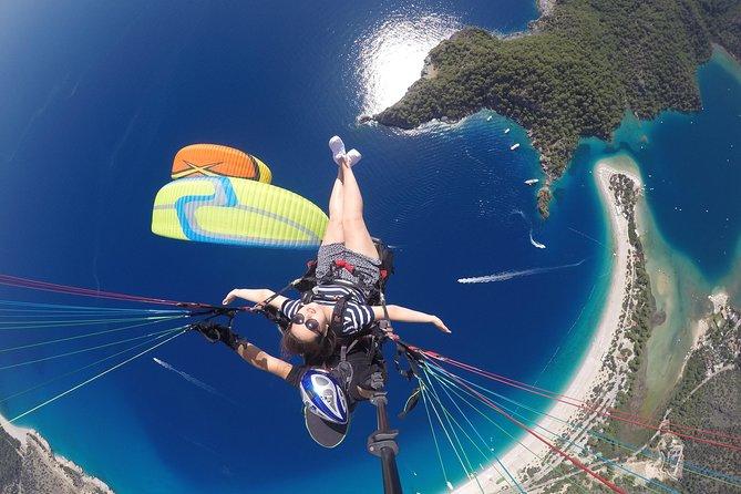 Paragling in Fethiye