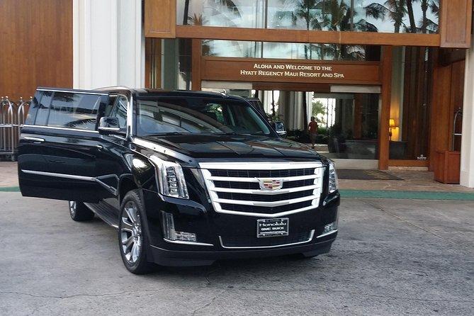 Private SUV Transfer on Maui To Wailea