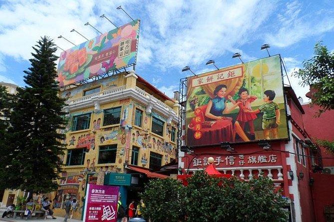 Macau Sightseeing tour including Buffet Lunch on Macau Tower and pickup in Macau