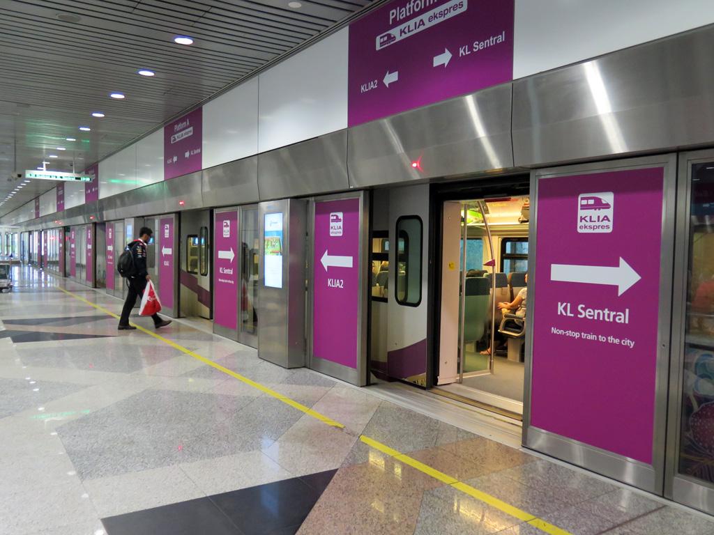 KLIA Ekspres Airport Train Tickets (KLIA/KLIA 2 to KL Sentral ...