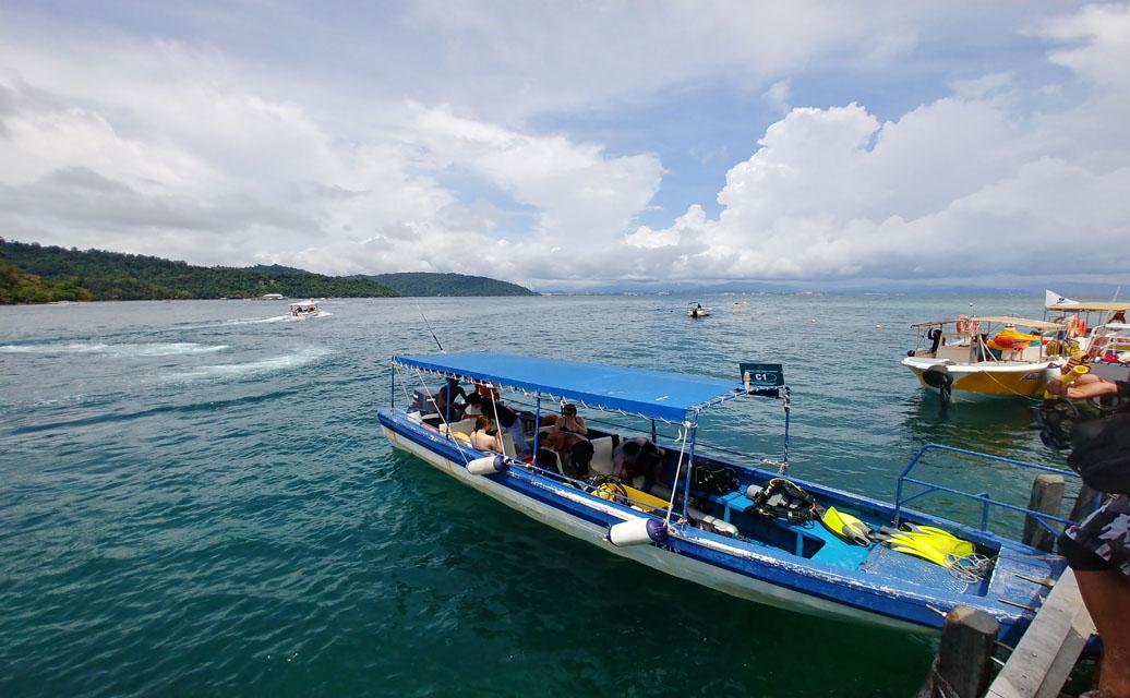 코타키나발루 사피 & 마누칸 섬 투어