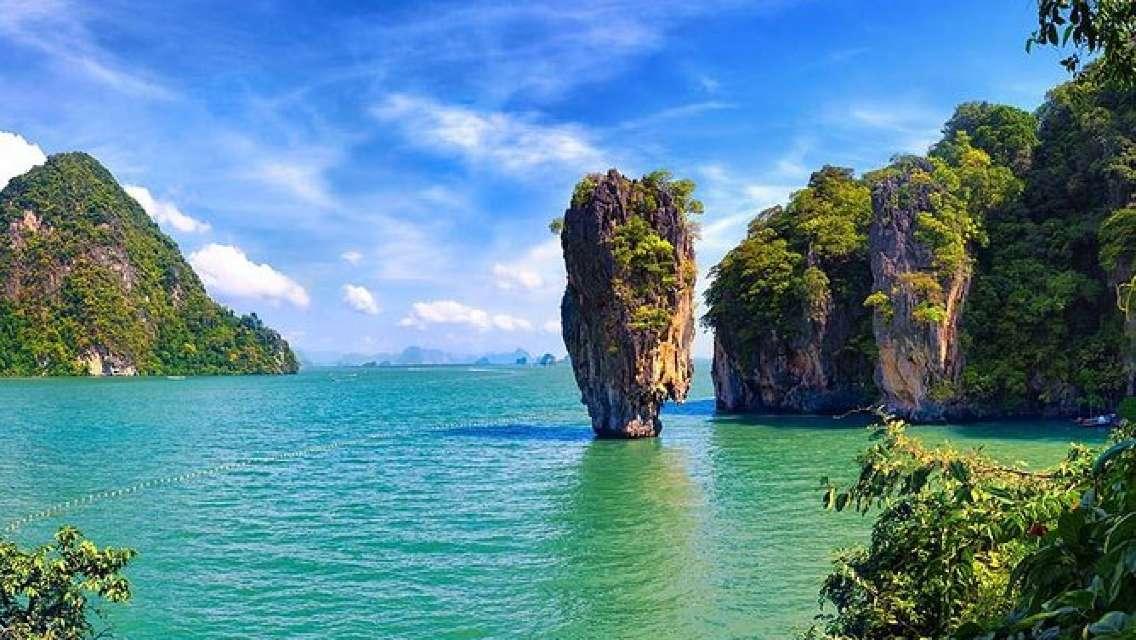 Phuket: 4 in 1 James Bond Canoeing in Phang Nga Bay by Big Boat