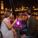 Bateaux Parisiens Seine River Dinner Cruise with Hotel Transfers