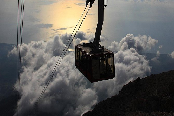 Tahtali cable car from Antalya